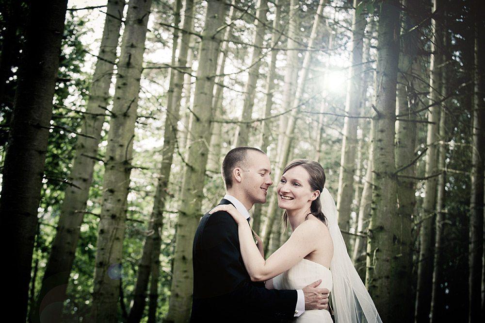 Bryllupsfoto fra Odense