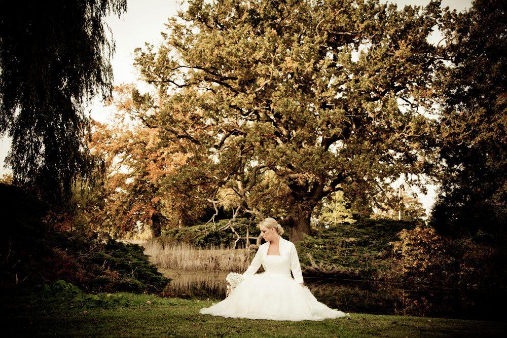 Bryllupsfoto fra Nibe