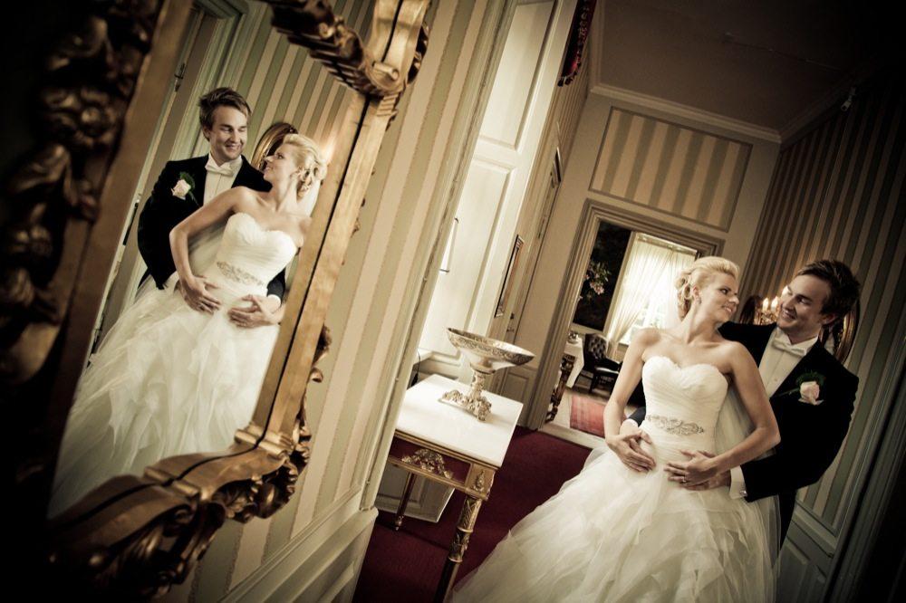 Bryllupsfotograf ved Ena og Ole
