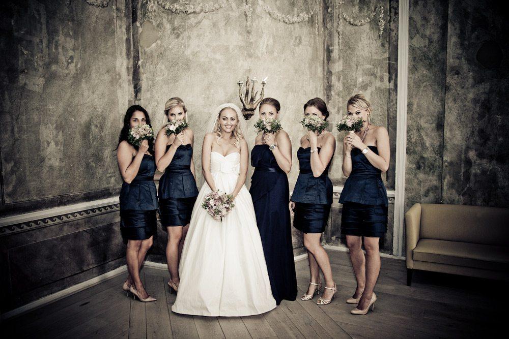 Bryllup på Rold Storkro og vielse i Ansgar kirke