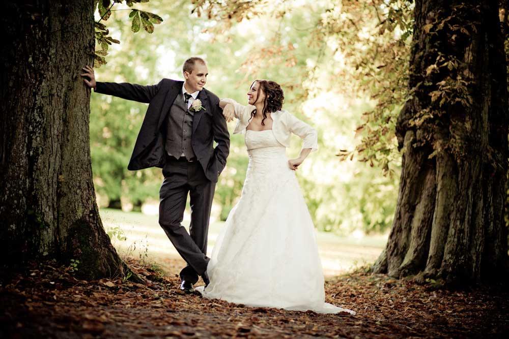 bryllupsbilleder med kant