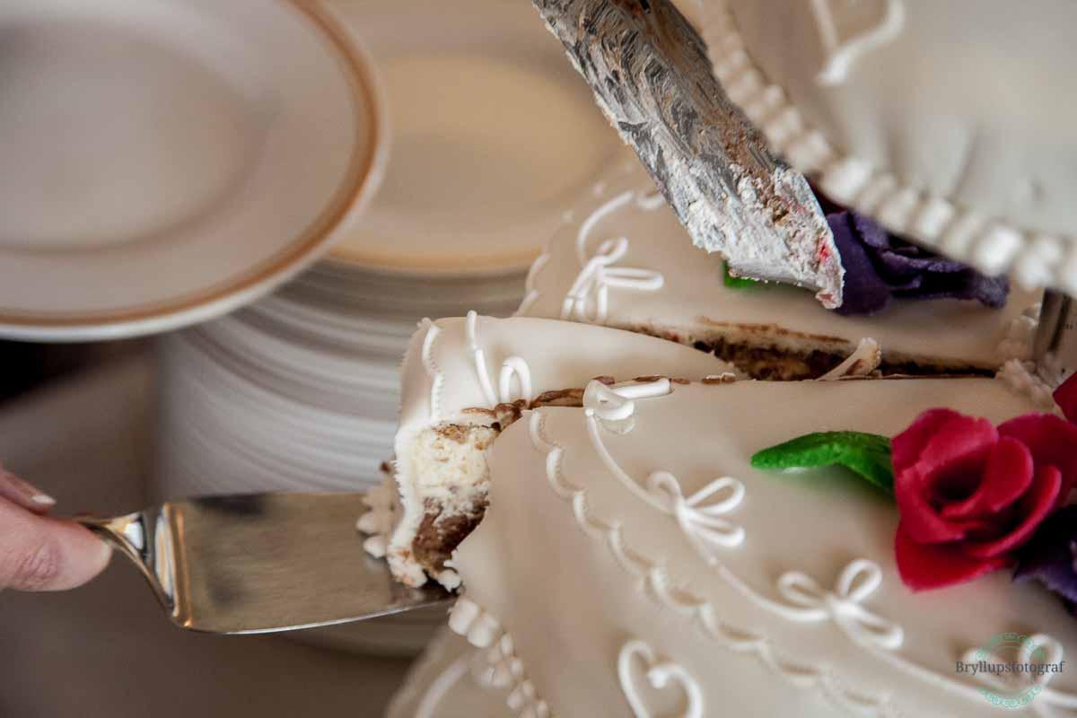 kage bryllup Ballebro Færgekro