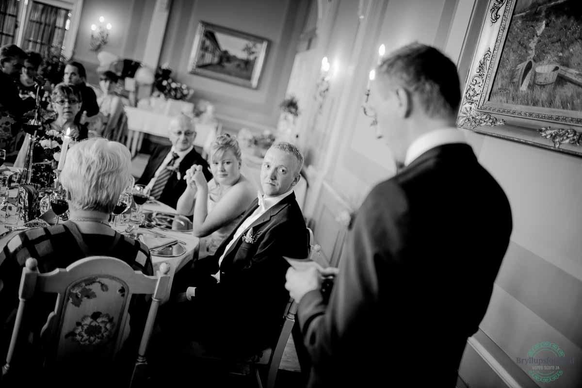 taler ved bryllup Ballebro Færgekro
