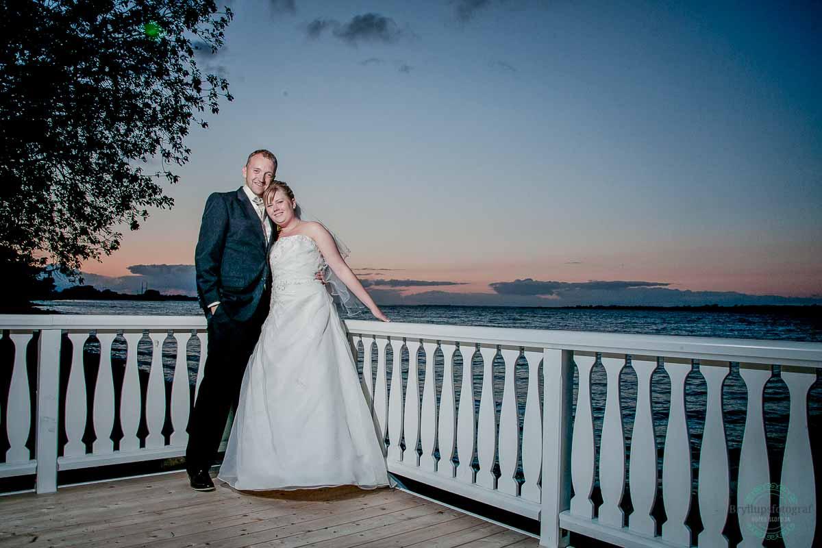 kreativ bryllupsfoto Ballebro Færgekro