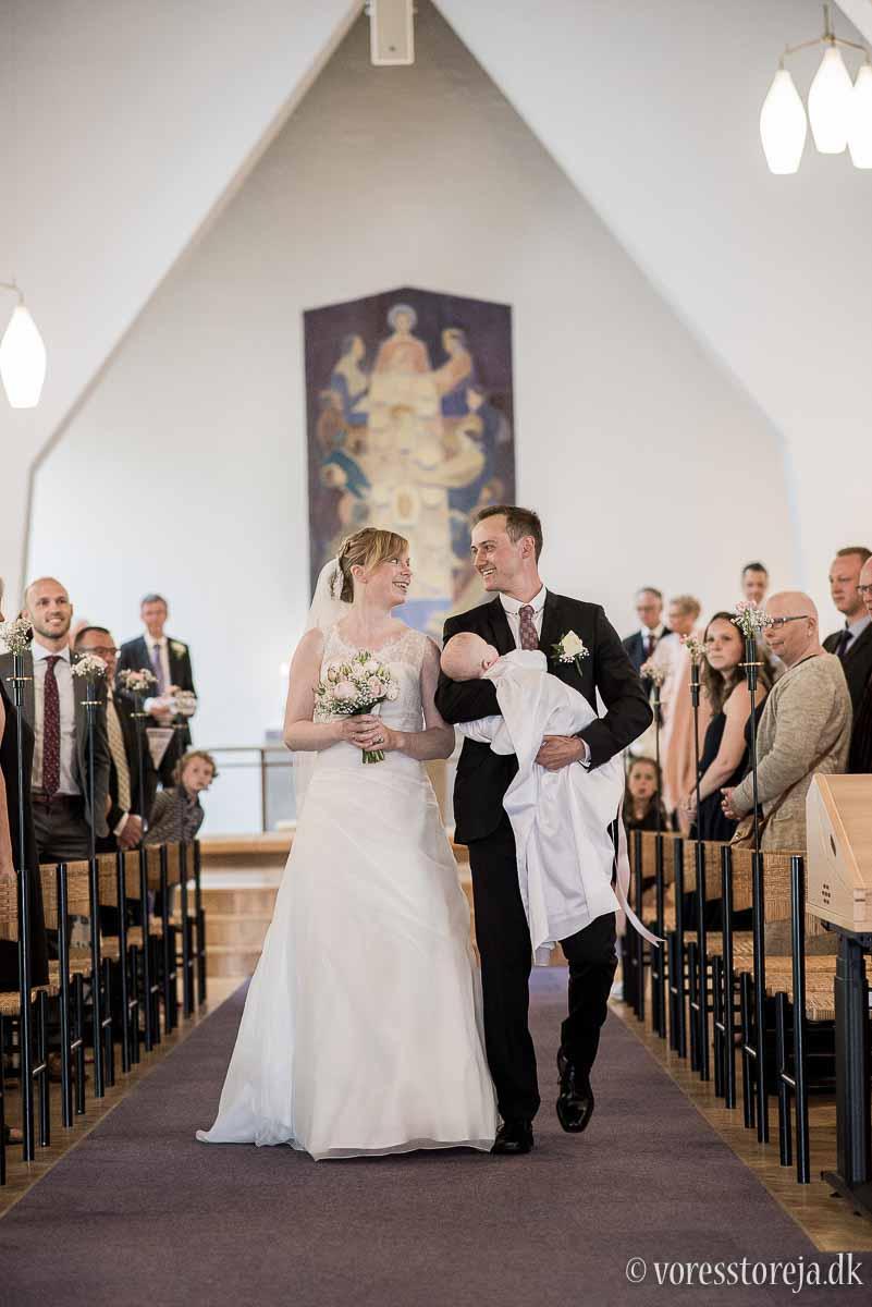 brudepar Christianskirken Aarhus