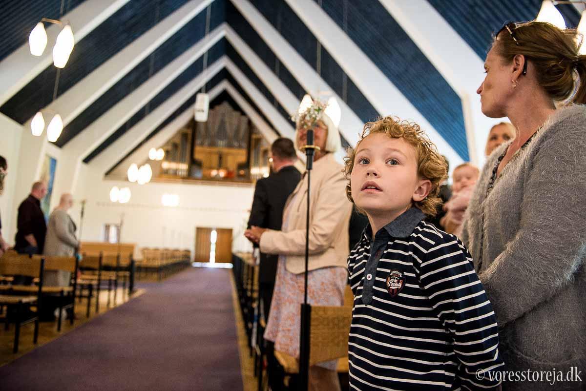 venter på bruden Christianskirken Aarhus