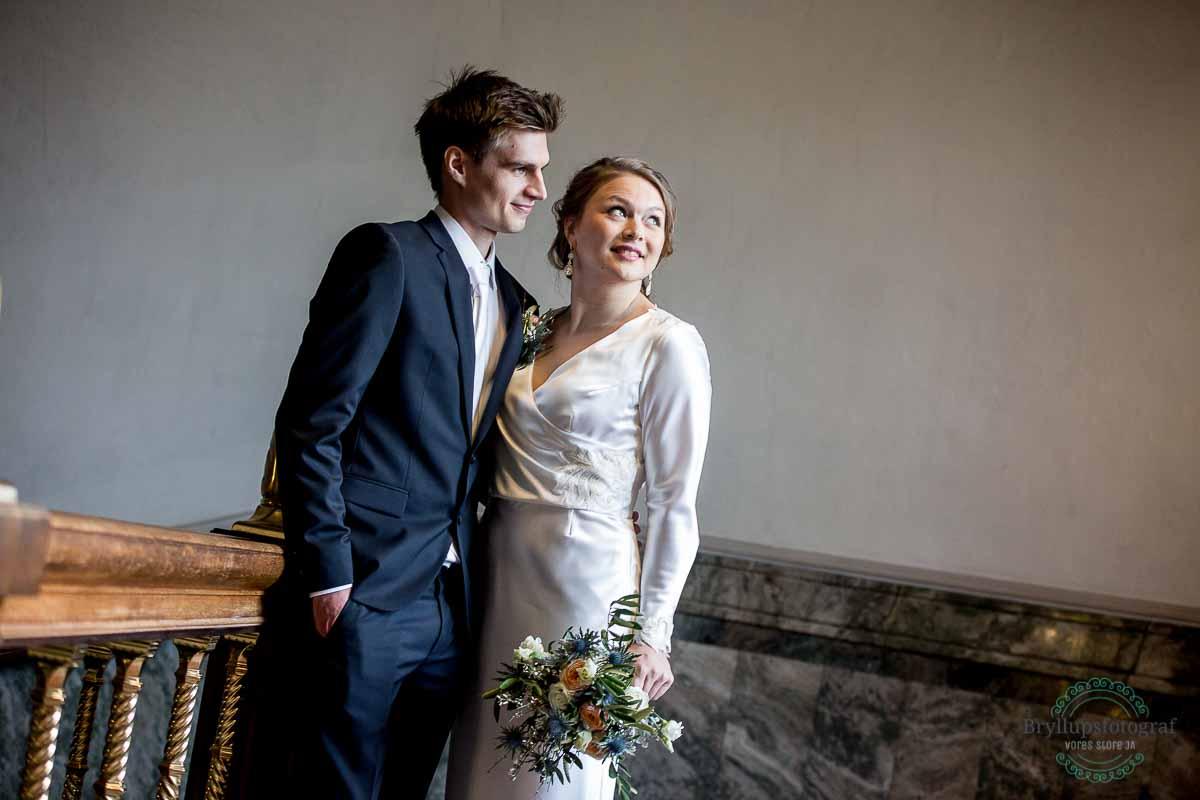bryllupsportræt københavns rådhus