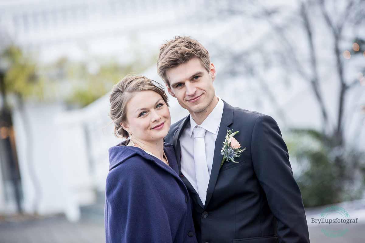 brudepar ved tivoli