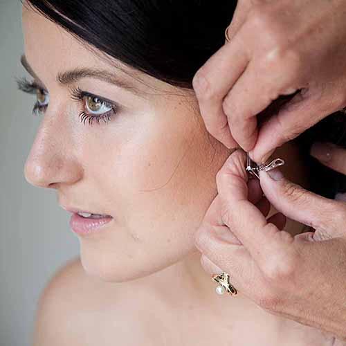 bruden er klar til den store dag