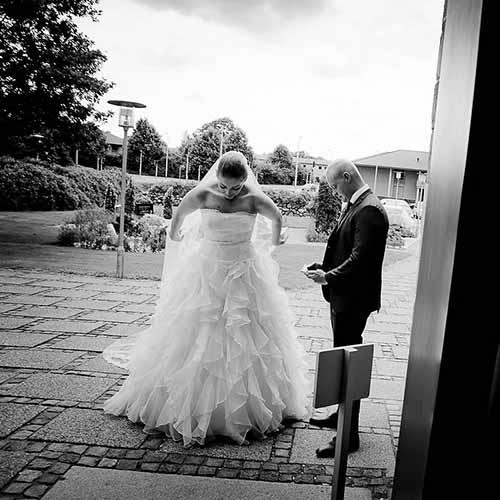 aabenraa bryllupsfotograf - vej fotografi