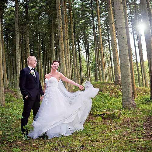 bryllup viborg golfsalonen