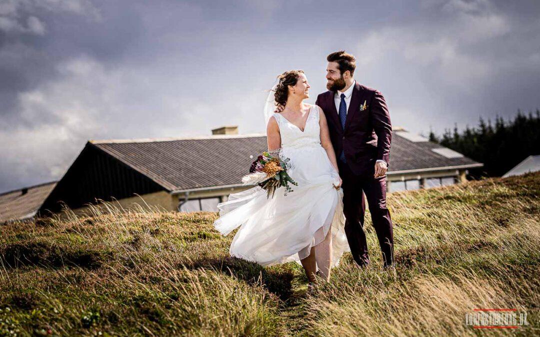 On-location bryllupsfotografering