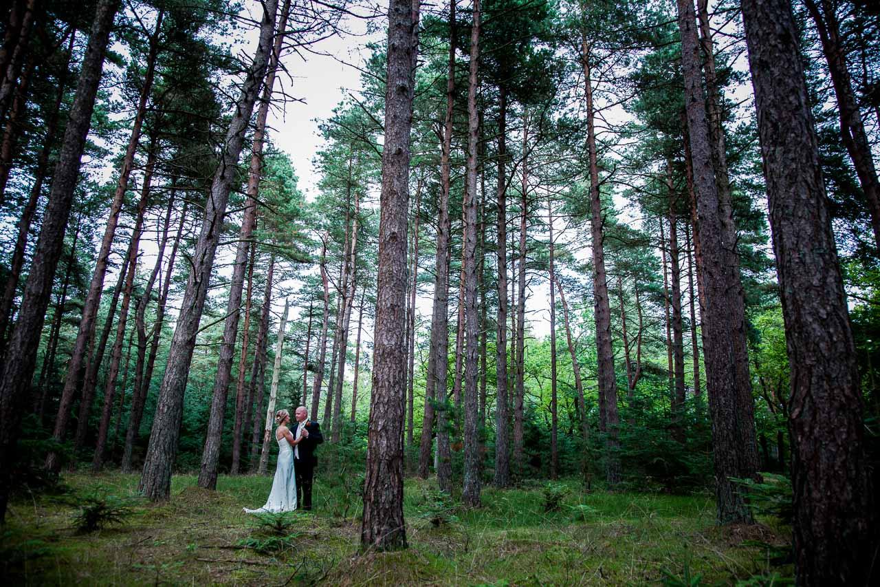 Bryllupsbilleder fotograferet i Jylland