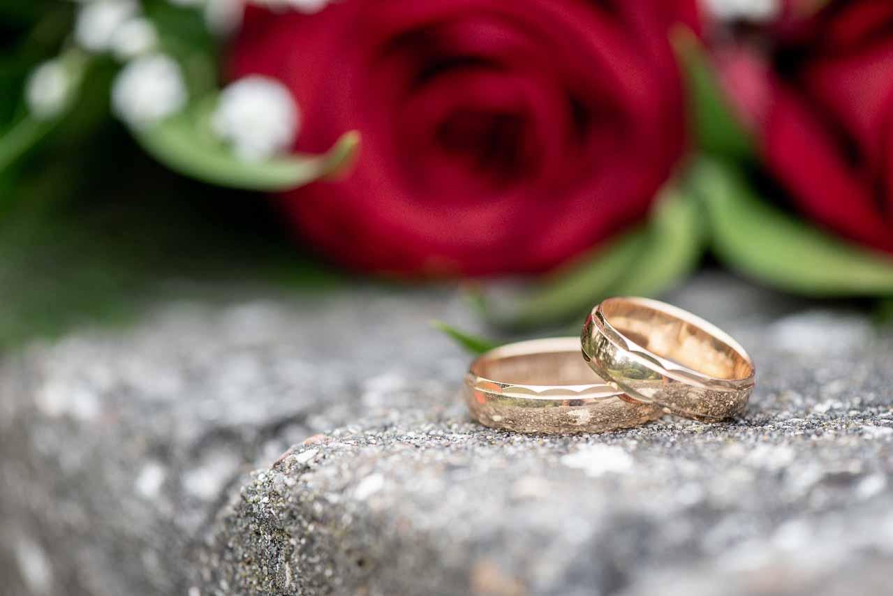 At lave bryllupsbilleder af brudeparret kræver forberedelse