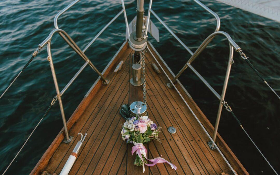 Bryllup på åbent hav?